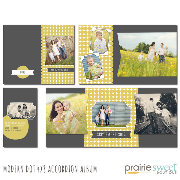 Modern Dot 4x8 Accordion Album