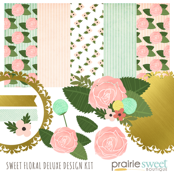 Sweet Floral Deluxe Design Kit