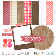 XOXO Deluxe Design Kit