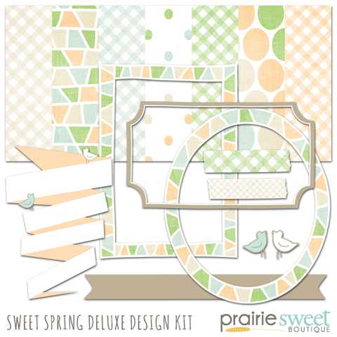 Sweet Spring Deluxe Design Kit