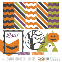Halloween Sweet Essentials Deluxe Design Kit