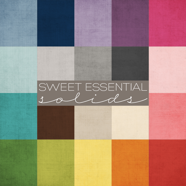 Sweet Essential Solids Digital Paper Collection