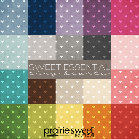 Sweet Essential Tiny Hearts Digital Paper Collection