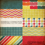 Rainbow Connection Digital Paper Collection
