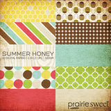 Summer Honey Digital Paper Collection