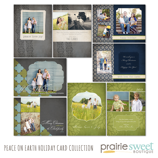 Peace on Earth Holiday Card Collection