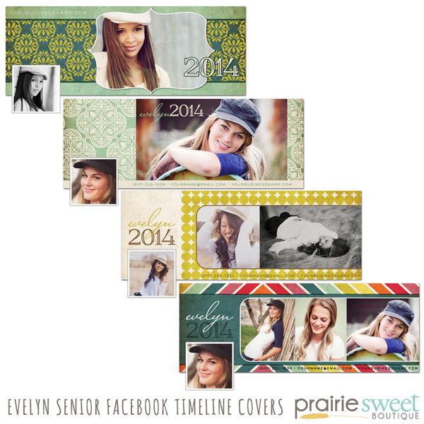 Evelyn Senior Facebook Timeline Covers