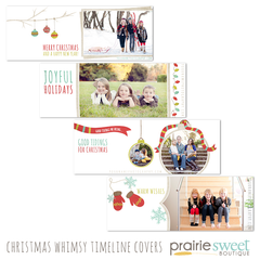 Christmas Whimsy Facebook Timeline Covers