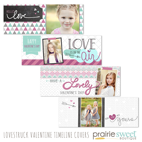 Lovestruck Valentine Facebook Timeline Covers
