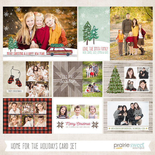 HOME FOR CHRISTMAS Holiday Card Collection