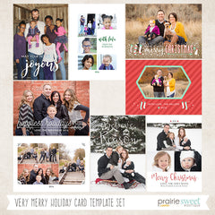 VERY MERRY Holiday Card Collection