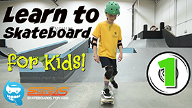 Learn to Skateboard for Kids Video