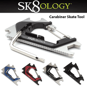 SK8OLOGY All Colors Carabiner Skate Tool