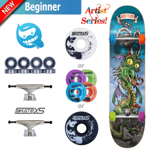 SkateXS Dragon Beginner Skateboard for Kids