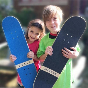 SkateXS Flowers Beginner Complete Skateboard for Kids