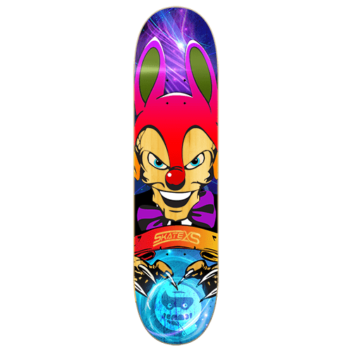 SkateXS Clown - Deck Only