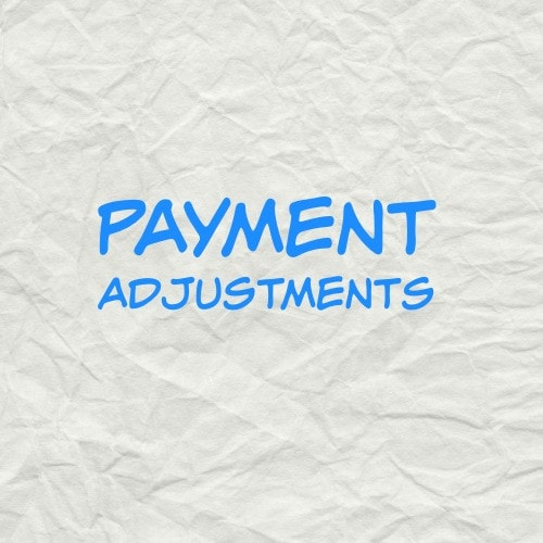 Payment Adjustment