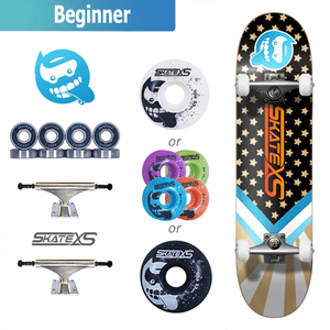 SkateXS Starboard Beginner Skateboard for Kids
