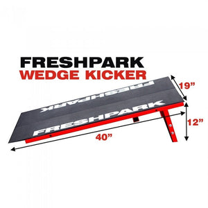 Freshpark Portable Wedge Kicker Skateboard Ramp