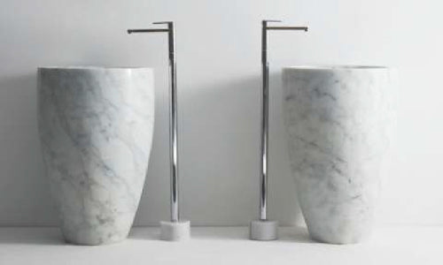 Pedestal Wash Basin. Waterock® by Salubre®