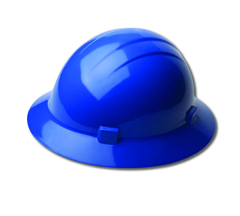 ERB Hard Hat Americana Full Brim Ratchet Blue 19226