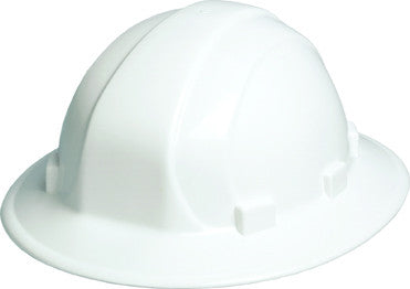 ERB Omega II® Full Brim Hard Hat - Ratchet - 6pt. (Box of 12)