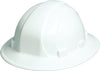 Hard Hat - Omega II Full Brim Ratchet White 19911