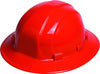 Hard Hat - Omega II Full Brim Ratchet Red 19914