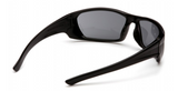 Columbine SAFETY GLASSES GREY OUTLANDER BLACK MEETS ANSI Z87.1+ HIGH IMPACT