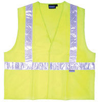 S17 ANSI Class 2 Hi-Viz Safety Vest - Hook & Loop