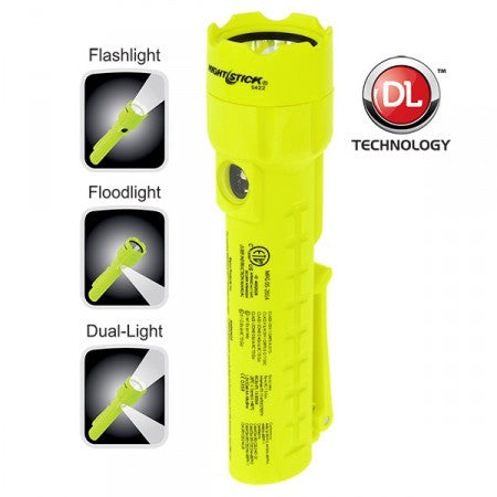 Nightstick XPP-5422G Intrinsically Safe Permissible Dual-Light™ Flashlight