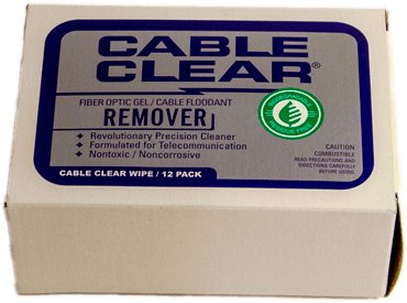 Cable Clear™ Fiber Optic Cable Cleaner