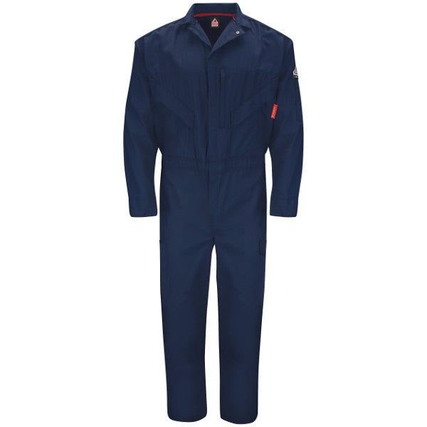 RTI FR  -   iQ Series Navy Endurance Flame Resistant CoverallCAT2 - QC10NV