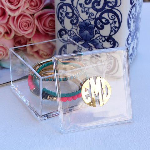 Acrylic Monogram Box