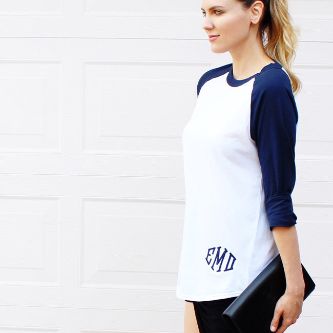 Monogram Baseball T-shirt