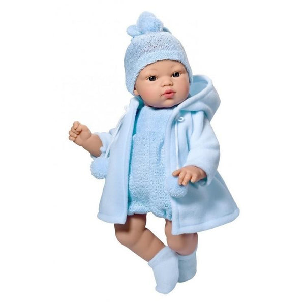 36cm Blue Winter Outfit Doll