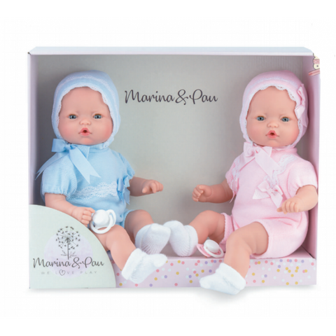 40cm Crying Twin Dolls - Sienna's Spanish Baby