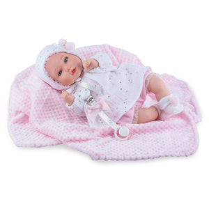 40cm Girl Crying Doll - Sienna's Spanish Baby