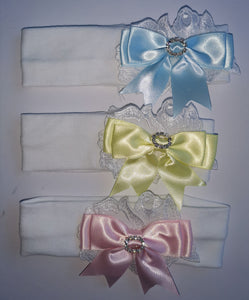 Diamante Bow Headbands (Spring Collection) - Sienna's Spanish Baby