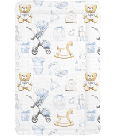 MollyDoo Vintage Blue Changing Mat - Sienna's Spanish Baby