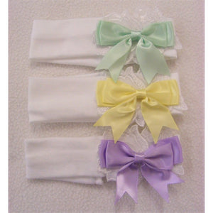 Kinder Pastel Bow Headbands - Sienna's Spanish Baby