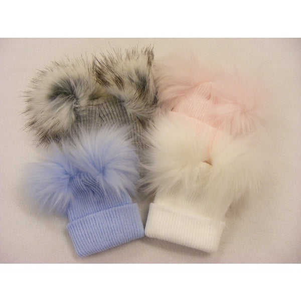 Babies Double Pom Hats - Sienna's Spanish Baby