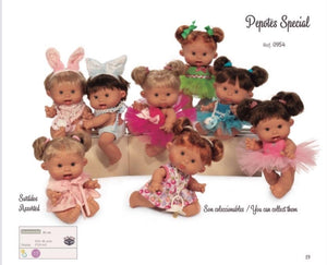 26cm Special Edition Pepotes Dolls - Sienna's Spanish Baby
