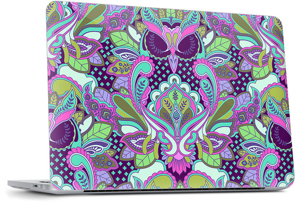 Owl Forget Me Not Laptop Skin