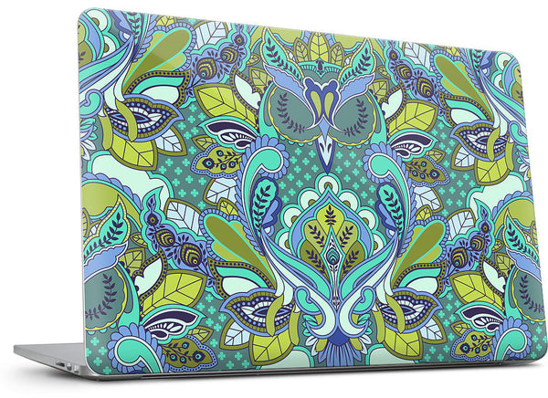 Owl Forget Me Not MacBook Skin