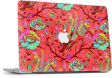 Tail Feathers Poppy MacBook Skin