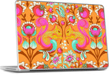 Squirrel Begonia MacBook Skin