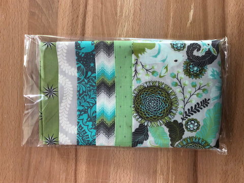 OMG Fat Quarter Bundle - Mint / Gray