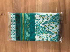 OMG Fat Quarter Bundle - Teal / Gold