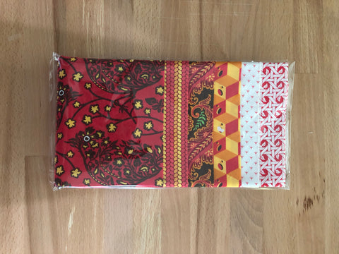 OMG Fat Quarter Bundle - Red / Gold